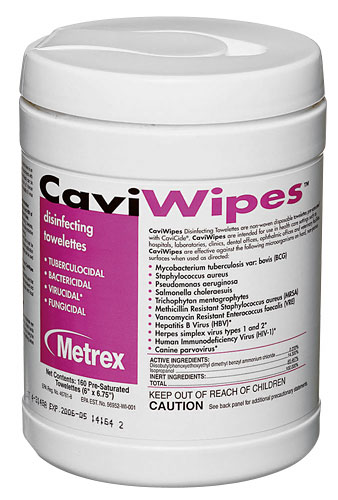 CaviWipe Towelettes (Canister)