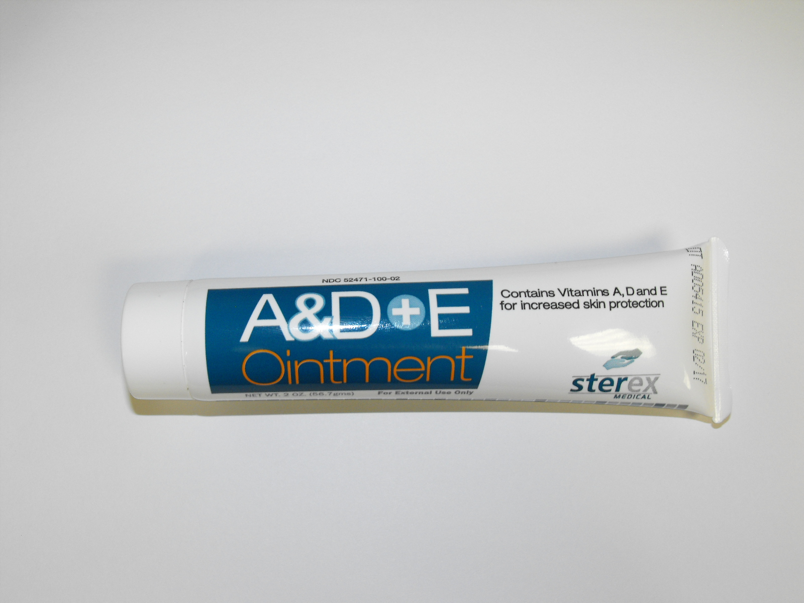 A & D Ointment, 2 oz. tube. 72/Case