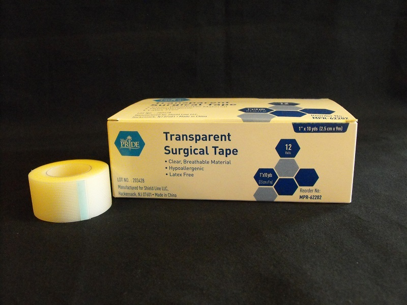 "1"" Transparent Tape, 12 Rolls per (Box)"