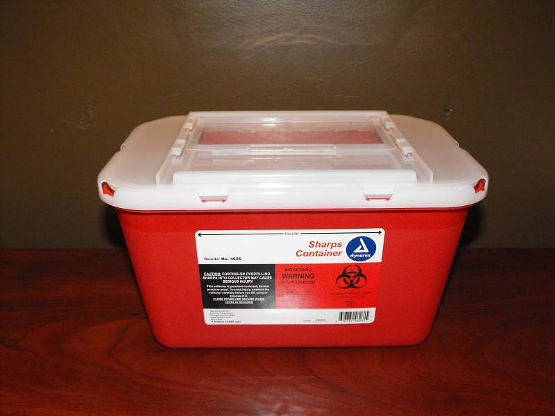 1-Gallon Sharps Container w/ Lid
