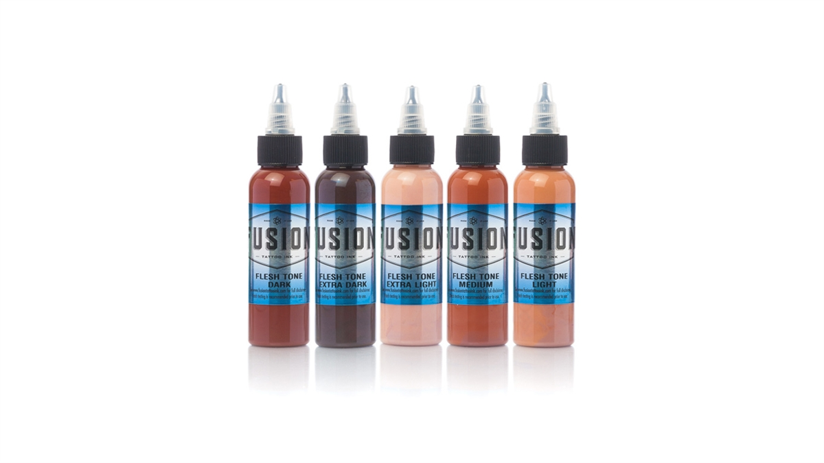 Fusion 2oz Flesh Tone Set, 5 Colors