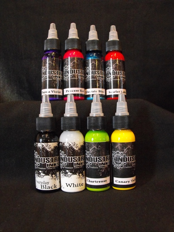 Industry Inks 1/2 Ounce 8 Pack Set