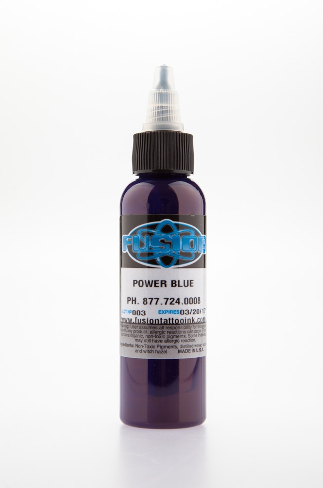 Power Blue 4oz btl