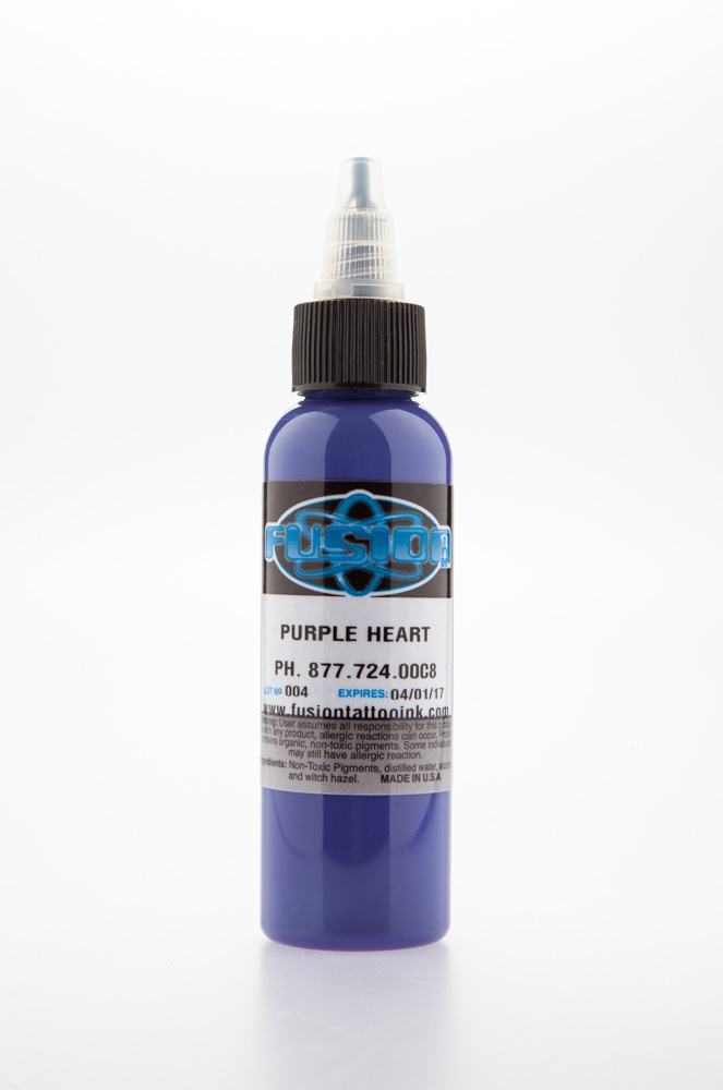 Purple Heart, 4 oz bottle