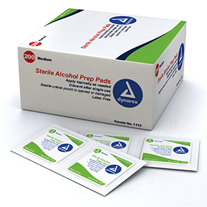 Alcohol Prep Pads (Case)