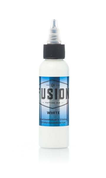 White 8oz btl
