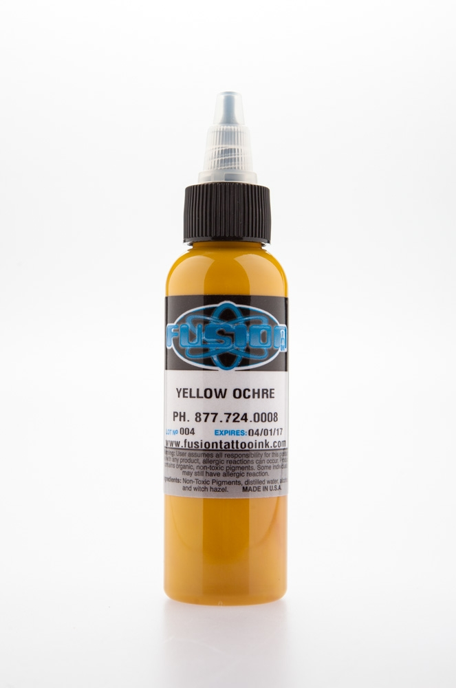 Yellow Ochre, 2 oz bottle
