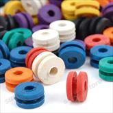 Assorted Rubber Grommets, 100/bag
