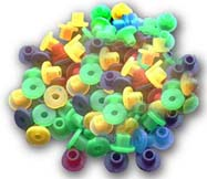 Assorted Rubber Nipple, 100/bag