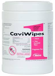 Cavi ONE Wipe Towelette, 160/canister, 12/Case