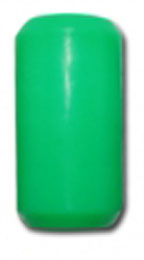 "3/4"" Green Silicone Grip"