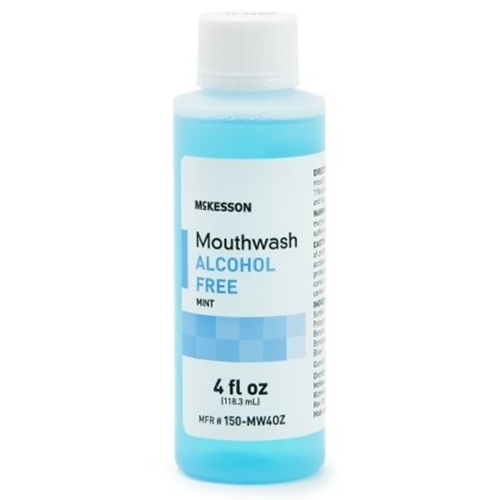 Alcohol Free Mouthwash 4oz Bottles