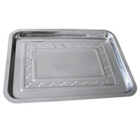 Economy Stainless Steel Flat Tray