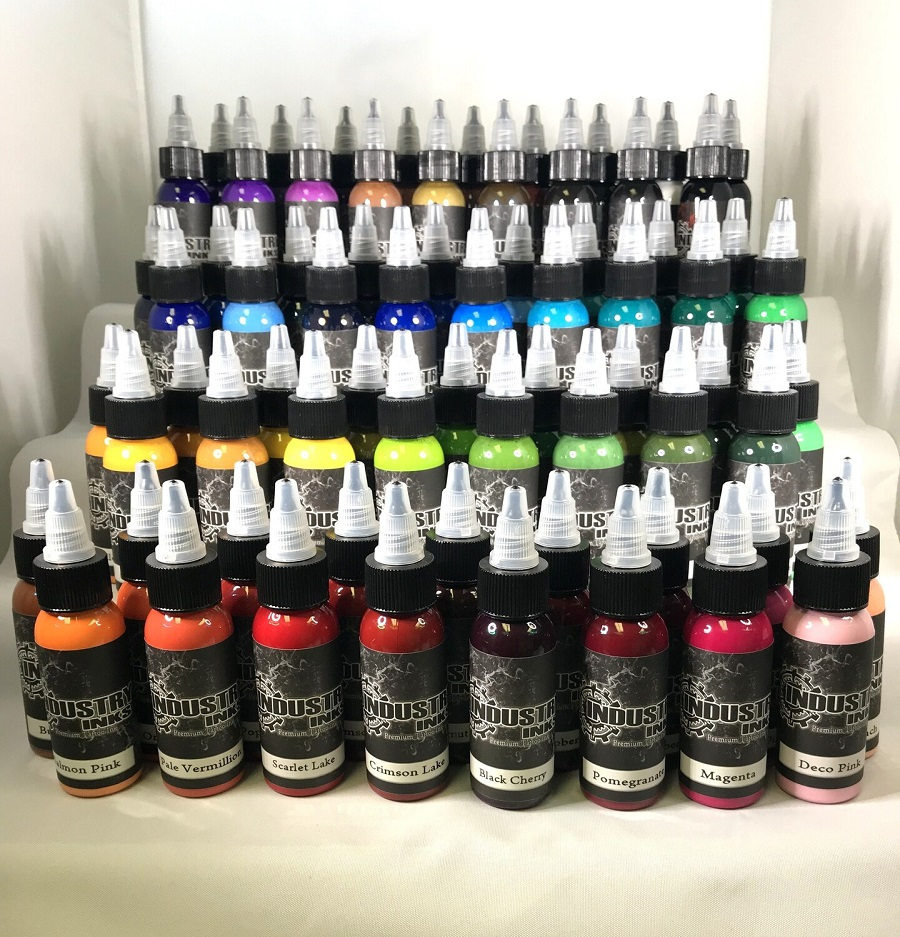 Industry Inks 1oz Full Set (70 Colors)