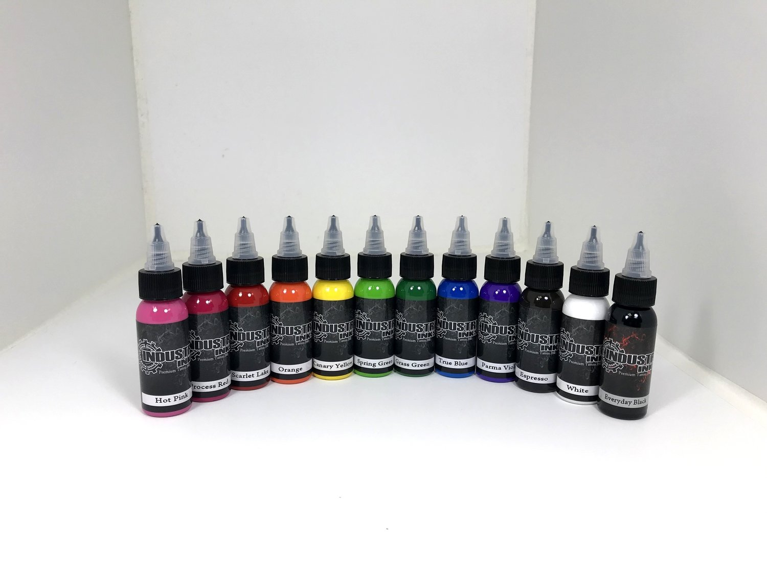 Industry Inks 1oz Sample Pack 12 Colors