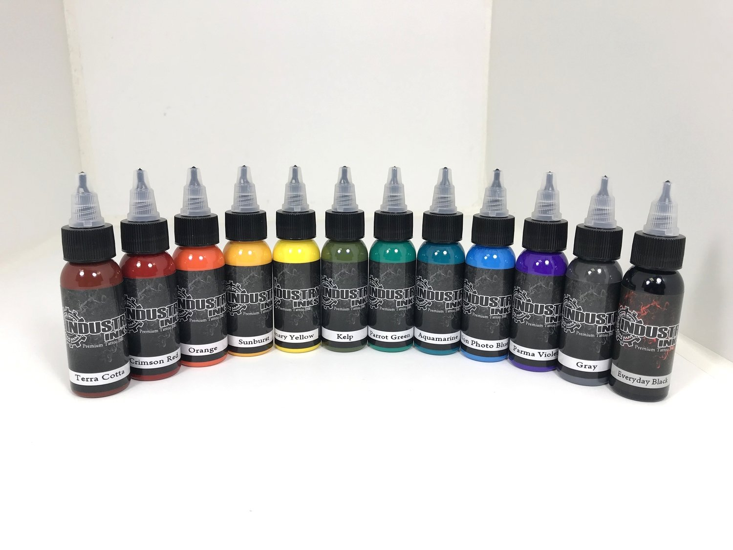 Industry Inks 1oz Traditional Plus Set 12 Colors