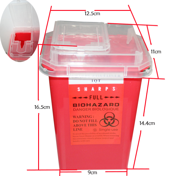 1-Quart Sharps Container