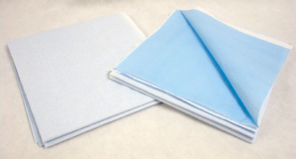 "X-Large Drape Sheets, T/P/T, 40""x90"" Blue"
